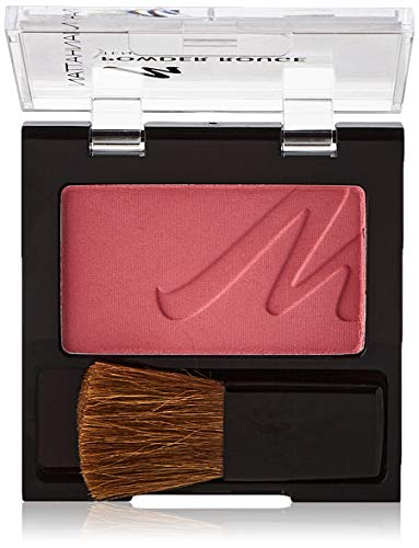 Manhattan Powder Rouge – Pinkes Blush mit Puder Textur und beiliegendem Pinsel – Farbe Cherry Chic 36M – 1 x 5g