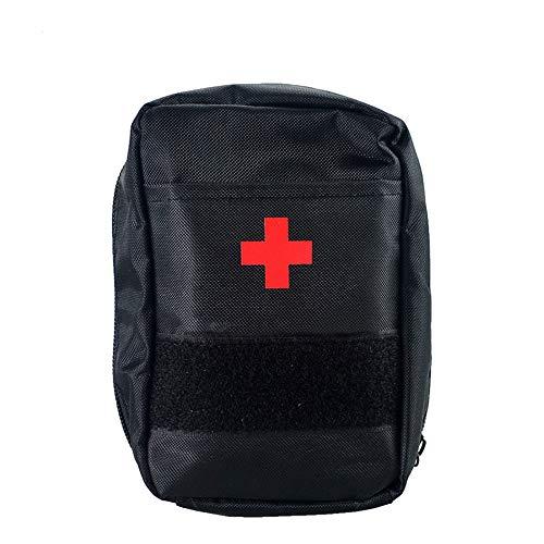 Yuan Ou Kit Primeros Auxilios Kit De Primeros Auxilios Big Car Kit Outdoor Travel Camping Survival Medical Kits Fáciles De Llevar 13X10X8cm Negro