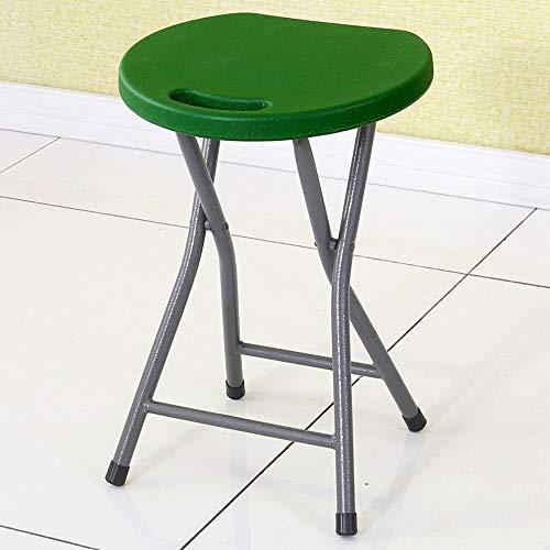 XUMINGZDY Klapphocker Candy Farbe Kunststoff Stuhl Hause Stuhl einfache esstisch hohen hocker Badezimmer kleine Bank Outdoor Restaurant einfache tragbare zurück klappstuhl (Farbe : F)