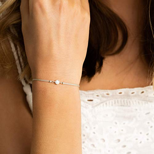 Kleiner Opal Armband 925 Sterling Silber Geschenk