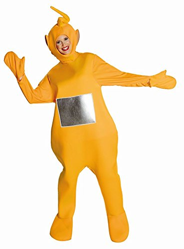 Teletubbies Unisex Kostüm Laa Laa zu Karneval Fasching
