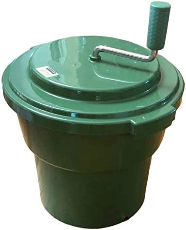 5 GALLON SALAD SPINNER MANUAL GREEN product image