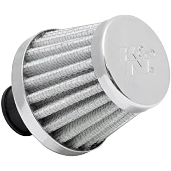 51 mm K/&N 62-1330 Vent Air Filter // Breather: Vent Air Filter// Breather; 0.5 in 13 mm Base; 2 in Height; 2 in Top 38 mm 51 mm Flange ID; 1.5 in