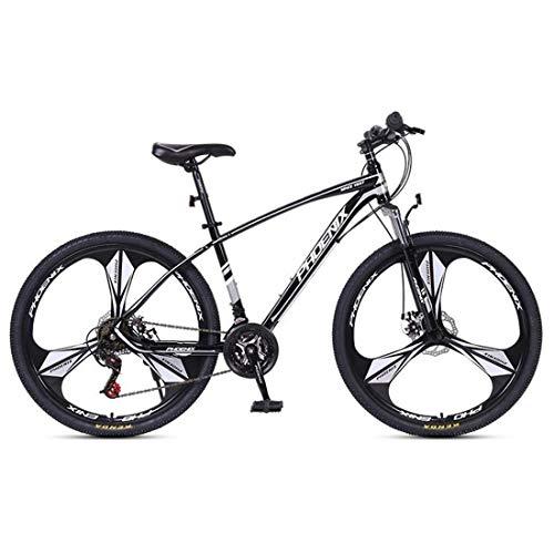 Mountainbike Bici Bicicletta MTB Mountain Bike, Telaio In Acciaio Al Carbonio Uomo Donna Hardtail / Biciclette, Doppio Freno A Disco Anteriore Sospensione Anteriore, 26 / 27.5 Pollici Ruote MTB Mounta