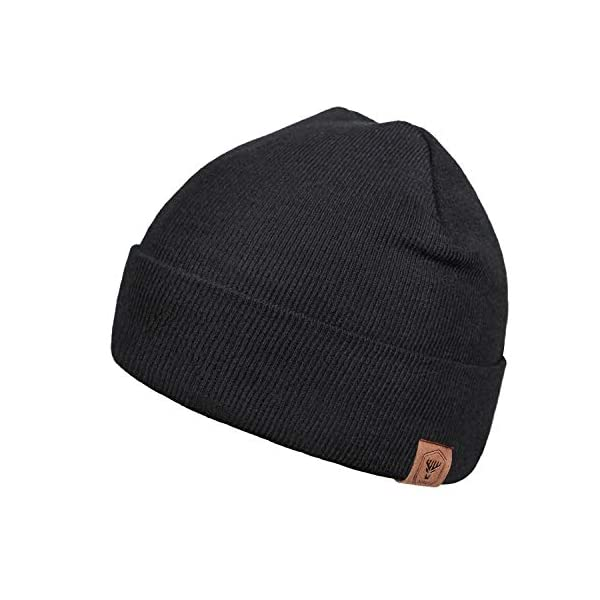 OZERO Winter Beanie Daily Hat, Thermal Polar Fleece Ski Stocking Skull Cap for Men...