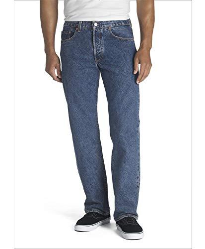Levi's Men's Big and Tall 501 Original Fit Jean, Dark Stonewash, 36W x 38L