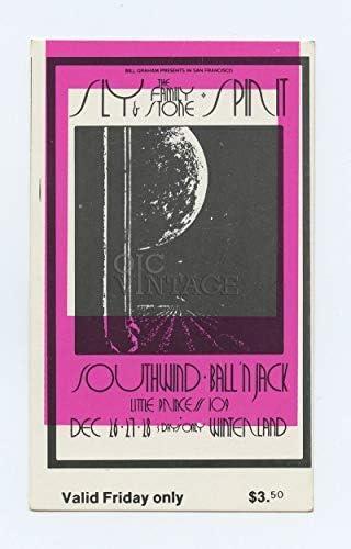 BG Max 40% OFF 208 Sly the Family Stone 1969 26 T Dec Fillmore Bill Arlington Mall Graham