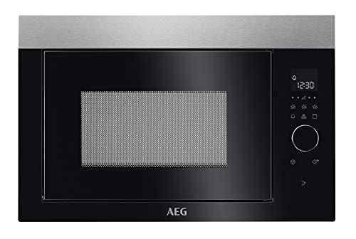 AEG MBE2657DEM 60cm Einbau-Mikrowelle / Touch-Bedienung / Grillfunktion / Display mit Uhr