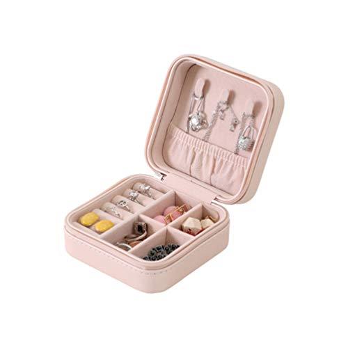 Caixa organizadora de joias BESPORTBLE, caixa de joias decorativa, caixa de joias para exibição de anéis pequenos, organizador de joias para viagens, meninas e mulheres