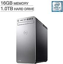 Dell XPS 8910 Special Silver Desktop - Intel i7-6700 16GB DDR4 Memory, 1TB SATA Hard Drive, 2GB AMD Radeon RX 560, DVD Burner, Windows 10 (Renewed)