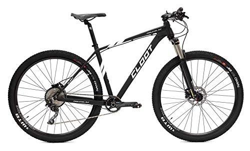 "CLOOT Bicicleta montaña 29"" Negra Prolevel Monoplato 11-42 Shimano Deore- Horquilla Aire (Talla L (178-188))"