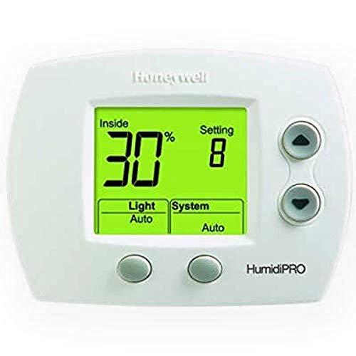 Honeywell H6062A1000 HumidiPro Digital Humidistat/Dehumidistat