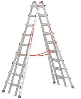 Little Giant Ladders 10110 SkyScraper 300-Pound Duty Rating Adjustable Stepladder, 17-Foot