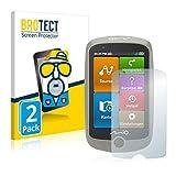 BROTECT 2X Entspiegelungs-Schutzfolie kompatibel mit Mitac Mio Cyclo Discover Bildschirmschutz-Folie Matt, Anti-Reflex, Anti-Fingerprint