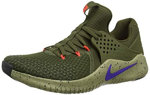 Nike Free Trainer V8, Zapatillas de Trail Running para Hombre, Multicolor (Olive Canvas/Indigo Burst/Neutral Olive 342), 42 EU