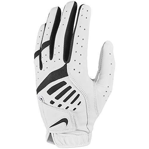 Nike Unisex– Erwachsene WMNS DURA Feel IX LH GG Handschuhe, Pearl White/Black/Black, M