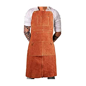 Mayceyee Leather Work Shop Apron 15