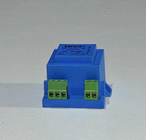 Transformador encapsulado Montaje en PCB TE4117 TE4121-YHDC Transformador de Aislamiento TE4121 Entrada: 220V / 230V Salida:6V-24V (220V, 12V)