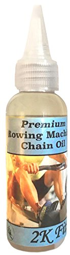 2K Fit Rowing Machine Chain Oil: 500 hours of Rowing with One Bottle, Works with Concept 2 Model C, D, and E, Custom-Formulated for Rowing Machine ergometer chains - Compatible with Other Major Brands