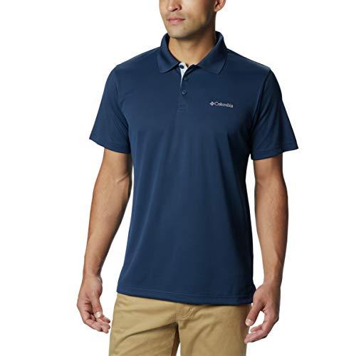 Columbia Men's Utilizer Polo, Collegiate Navy, Medium