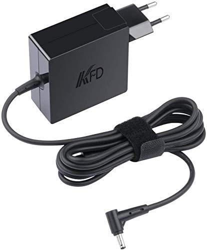 KFD 65W Adaptador Cargador Portátil para ASUS Toshiba Acer Fujitsu Medion HP ASUS Vivobook F550C X550C R503U X401 F555 F555L X55A K555LB X501A F555Y F555LA EXA1208EH D550M D550CA-RS31 R510C 19V 3,42A