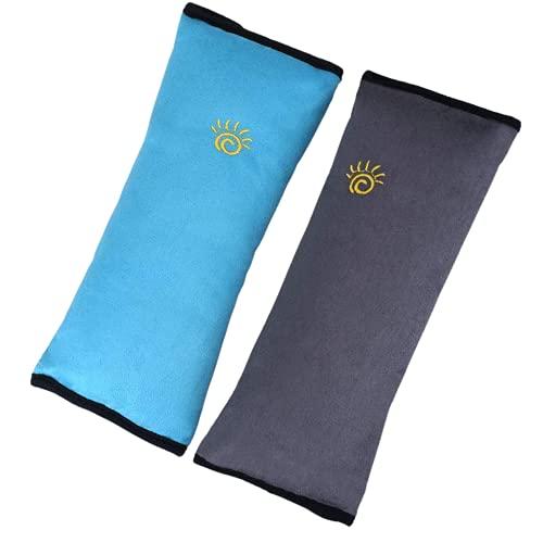 Crazy Bean 2pcs Almohadillas para Cinturón de Seguridad Protector Cinturon Coche Niños Almohadillas Protectores de Coche Hombro Cinturón de Seguridad para Niño