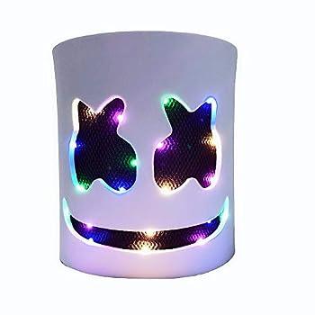 LED Mask Light Up DJ Music Festival Carnaval Halloween Glowing Mask