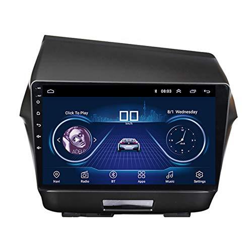 Flower-Ager 2 DIN Car Stereo Radio para Honda Jade 2013 1080P HD Touchscreen,Apoyo BT Manos Libres FM/Am/RDS Radio Enlace Espejo Controles del Volante Compatible OBD2 TPMS,WiFi+4g,2+32G