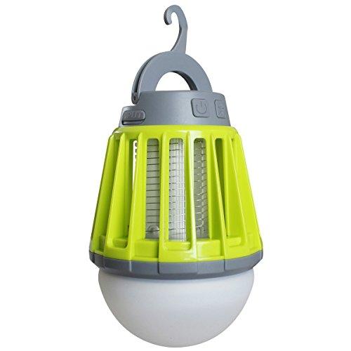 富士見産業 Field to Summit モスキートガードランタン OFLANMLG 充電式 LED 吊り下げ 電撃殺虫 本体:約φ88×h129mm