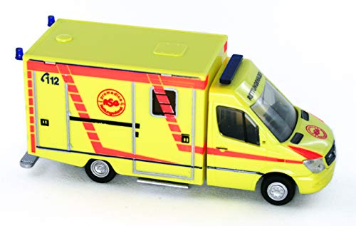 Rietze 61723 - was RTW Facelift Promedica ASG Ambulanz Leipzig - 1:87