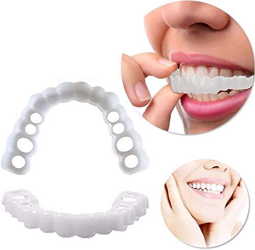 Make-up Zähne perfektes Lächeln praktisches Design Gebissschutz Lächeln Lächeln Zahnaufhellung
