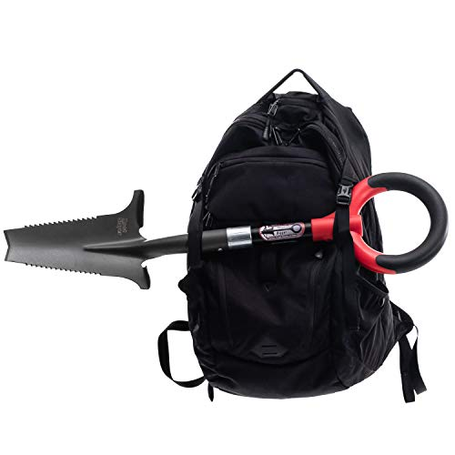 Radius Garden 22411 Root Slayer Mini-Digger Shovel, Root Slayer Mini-Digger, Red
