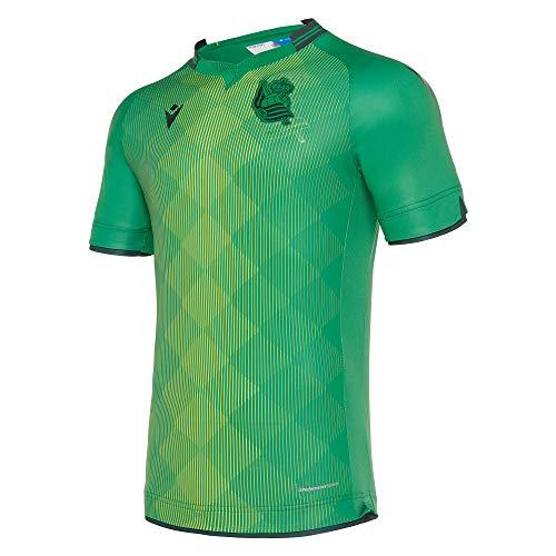 Macron Real Sociedad Segunda Equipación 2019-2020, Camiseta, Green, Talla S
