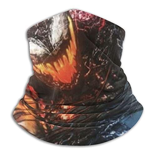 Venom Let There Be Carnage Polainas cara cubierta para niños y niñas al aire libre bufanda bandana headwear tubo bufanda