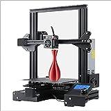 WENHU Impresora 3D All-in-One, Fuente de alimentación de Seguridad Reanudar la impresión y la Fuente de alimentación extraíble Fuente de alimentación DIY Kit de ensamblaje de impresión en el hogar