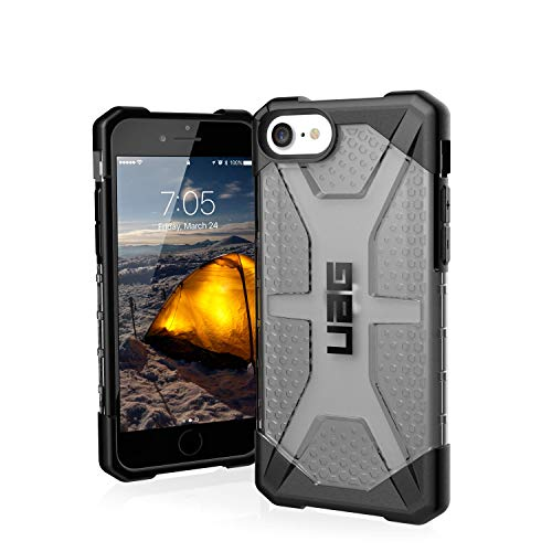 URBAN ARMOR GEAR UAG Deisgned for iPhone SE 2020 Plamsa Case [Ash] Rugged Translucent Ultra-Thin Military Drop Tested Protective Cover