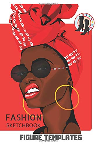 Fashion Sketchbook: Create Own Fashion and New Trends, Become Creative Flamboyant Fashion Designer, Nifty Gift for Fad Lovers, Female and Male Body ... . Over 110 pages Big and Easy Style in Use