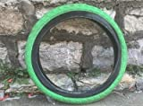 LYQQQQ Neumático de Bicicleta BMX de 20 Pulgadas 406 neumático 20 * 2.4 Neumáticos de Bicicleta Colorida (Color : B)