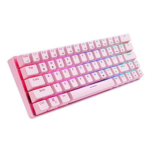 teclado de colores de la marca HUO JI