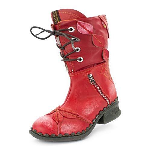 TMA Damen-Schuhe 5707F-3, Feuerrot, 38 EU