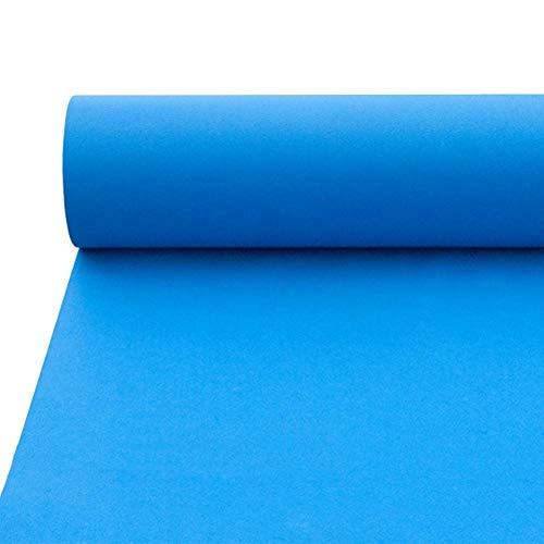 ALFYMX moqueta por Metros Alfombra, Alfombra Azul de la Boda, Alfombra Azul de la exposición, Alfombra desechable, Alfombra de celebración, tapete Verde Alfombra roja (Size : 1.2x20m)