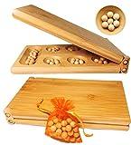 Toys of Wood Oxford Juego de Mesa Mancala - Juego de Mesa Kahala con...