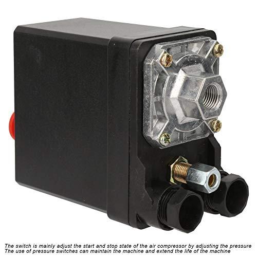 Vertikale Einlochmontage Druckschalter Luftkompressor Druckschalter Steuerventil 380V 75~175psi für Luftkompressor