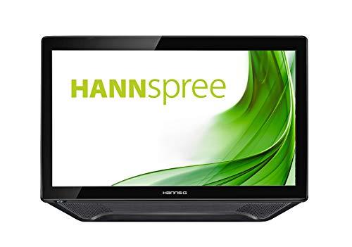 Hannspree HT231HPB Monitor Diagonal weiß LED 58,4 cm (23 Zoll) schwarz