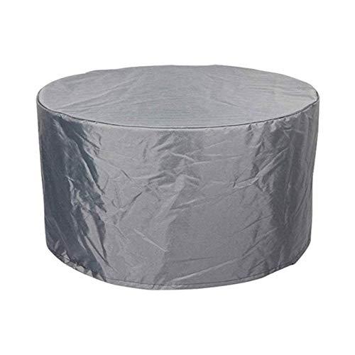 RTYUI Cubiertas para Muebles para Exterior Verde 227X100Cm Cubierta Circular para Mesa Cubiertas Impermeables para Muebles De Patio Cubiertas Redondas A Prueba De Rasgaduras Juego De Comedor Al Ai