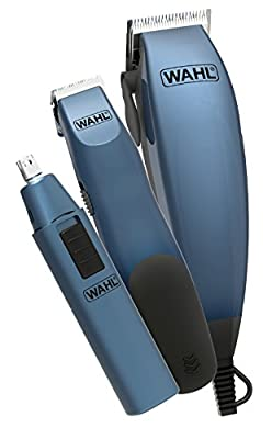 Wahl Hair Clippers for Men, 3-in-1 Corded Head Shaver Men's Hair Clippers in Storage Case, Gifts for Men, Nose Hair Trimmer for Men, Hair Trimmer, Stubble Trimmer, Male Grooming Set