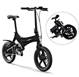 Ibesecc Electric bicycle Ebikes folding ebike Lightweight 250W 36V with 14inch Tire