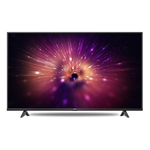 TCL 108 cm (43 inches) 4K Ultra HD Certified Android Smart LED TV 43P615 (Black) (2020 Model)
