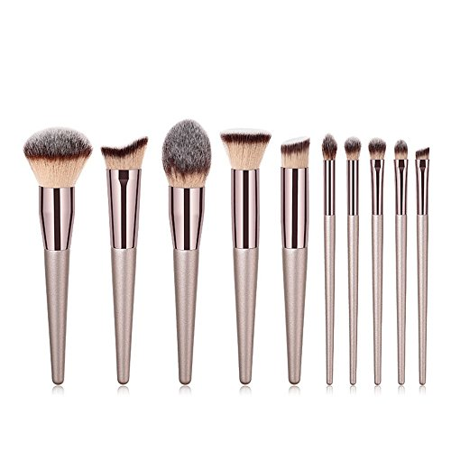 TYJKL Brosse Multifonctions Maquillage Maquillage Brosse de Brosse cosmétiques Eye Brosse 10 en 1 Outils De Maquillage Professionnels