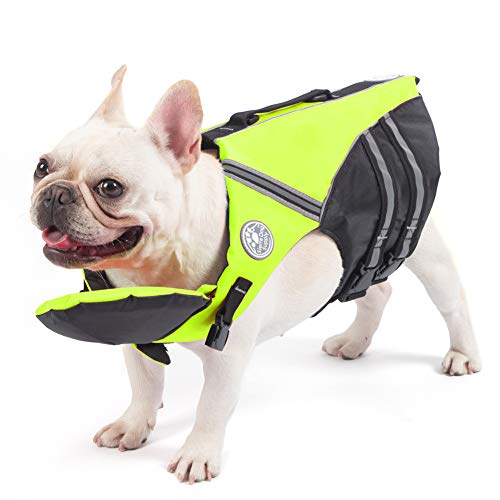 French Bulldog Life Jacket, Pet Life Vest, Dog...